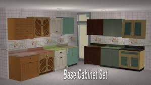 the sims 2 kitchen and bath interior design mod the sims set of maxis match wall cabinets updated