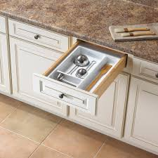 Kitchen Drawer Organizer Lipper International 2 In X 12 In X 17 5 In Bamboo Adjustable
