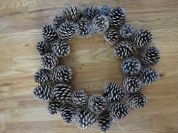 pinecone wreath how to pinecone wreath