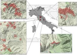 Norcia Italy Map Cantiani P Chiavetta U 2015 Estimating The Mechanical