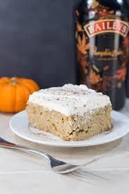 bailey u0027s pumpkin spice tres leches cake cake board and dessert