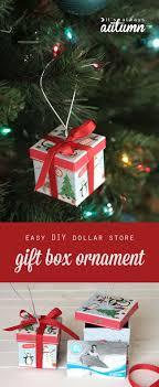 diy gift box ornaments diy tree tickets and diy