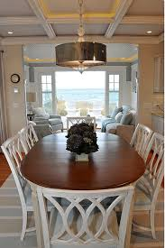 casual dining room ideas cottage with neutral coastal decor home bunch