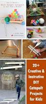 20 creative and instrutive diy catapult projects for kids hative