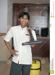 Room Boy Housekeeping Or Room Boy Staff Stock Image Image 6130461