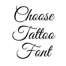 best tattoo fonts generate lettering for tattoo