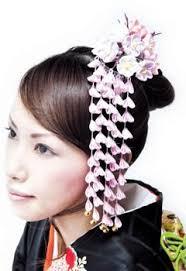 kanzashi japanese traditional hair ornament tsumami kanzashi