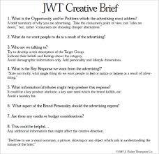 jwt creative brief advertising pinterest