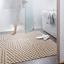 weave a modern bathroom chicago by flor