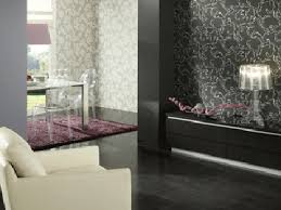Black And White Wallpaper For Bathrooms - photo collection black wallpaper design ideas