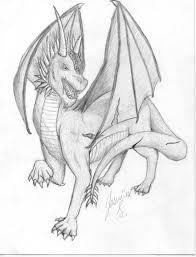 dragon pencil drawing fjordhorse deviantart