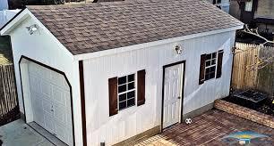 Pics Inside 14x30 House by 1 Car Prefab Garage One Car Garage Horizon Structures