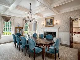 Traditional Dining Room With Box Ceiling  Wall Sconce Zillow - Wall sconces for dining room
