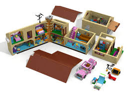 unofficial ldd 71006 the simpsons house roof mod and more lego