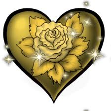 golden rose heart tattoo by midnightpearl the exchange