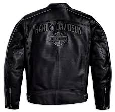 perforated leather motorcycle jacket harley davidson reflective perforated leather jacket born to ride