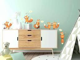 stickers animaux chambre bébé stickers pour chambre garcon stickers pour chambre denfant