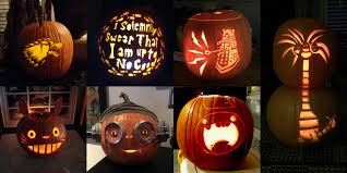 halloween 2016 u0027s most geek tastic pumpkins