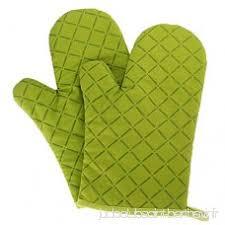 gant de cuisine anti chaleur panegy 2 gants de four coton gants de cuisine anti chaleur pour