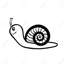 2 540 snail line cliparts stock vector and royalty free snail