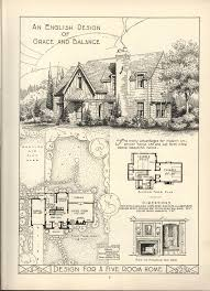 Vintage Southern House Plans by 1920s English Cottage Small Homes Books Of A Thousand Homes