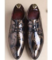 wedding shoes for men men dress shoes shadow patent leather luxury fashion groom wedding