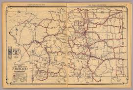 Colorado State County Map by Colorado David Rumsey Historical Map Collection