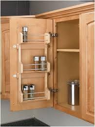 kitchen cabinet door storage racks rev a shelf 4sr 15 4sr series door mount spice build