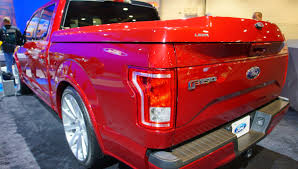 Ford Raptor Bed Cover - 2015 leer f150 at sema 2014 youtube