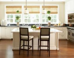 Small Kitchen With Reflective Surfaces Small Kitchen Decorating Ideas For Home Staging
