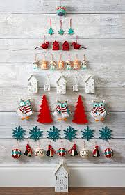 wall christmas tree hanging ornaments christmas tree