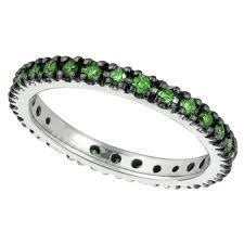 eternity wedding bands 2 3ct fancy green diamond wedding band eternity ring