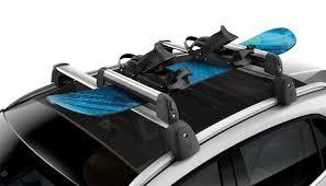porta snowboard per auto portasci e porta snowboard standard trasporto sul tetto per gla