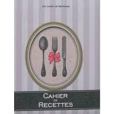 cahier de cuisine vierge 123 cahier de cuisine vierge cahier de cuisine achat vente cahier