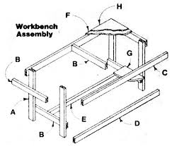 Free Simple Wood Workbench Plans by Free Workbench Woodworking Plans From Shopsmith
