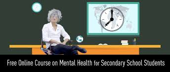 high school health class online free online course on mental health for secondary school students