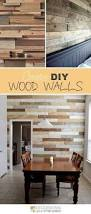 diy a wood planked accent wall for your home diy wood wall wood