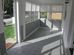 Windows For Porch Inspiration Brilliant Grey Ceramic Floors And Half Sliding Glass Windowed And