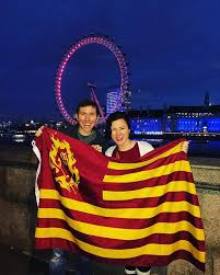 Arizona travel abroad images Carrying the flag sun devils abroad jpg