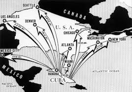 Cuban Map Distances Of Major Cites From Cuba Cuban Missile Crisis Pictures