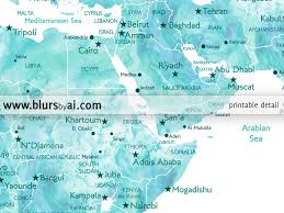 Syria World Map by Printable Personalized World Map With Cities Capitals Countries