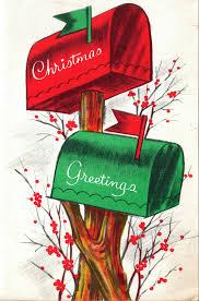 cassette natalizie cassette della posta natalizie rossa e verde festivita sfondi