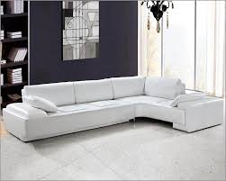 White Sofa Sets Leather Modern Design Sectional Sofa Set 44l0738