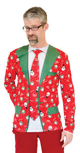 halloween sweaters ugly christmas suit tie t shirt ugly christmas sweater