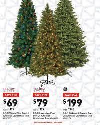 ge 7 5 oakmont spruce pre lit artificial tree lowes