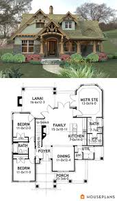 craftsman mountain house plan and elevation 1400sft houseplans