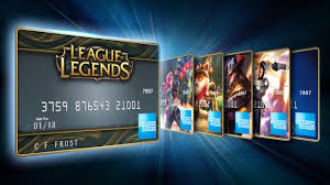 prepaid card for get rp with rp from american express serve league of legends
