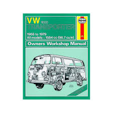 vw transporter 1600 1 6 petrol 1968 79 up to v reg haynes manual