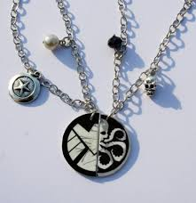 best necklace stores images Shield or hydra best friend necklaces nerdy robots online JPG