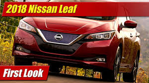 nissan leaf apple carplay 2018 nissan leaf first look youtube